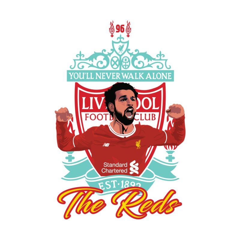 MO. SALAH LIVERPOOL FC Men's T-Shirt by ALGS's Artist Shop