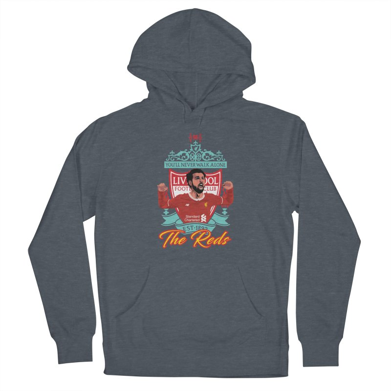 MO. SALAH LIVERPOOL FC Women's French Terry Pullover Hoody by ALGS's Artist Shop