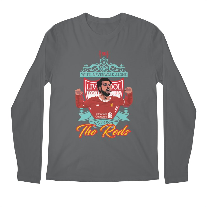 MO. SALAH LIVERPOOL FC Men's Longsleeve T-Shirt by ALGS's Artist Shop
