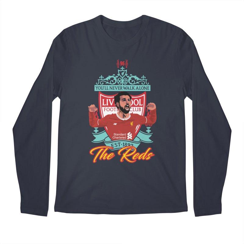 MO. SALAH LIVERPOOL FC Men's Regular Longsleeve T-Shirt by ALGS's Artist Shop