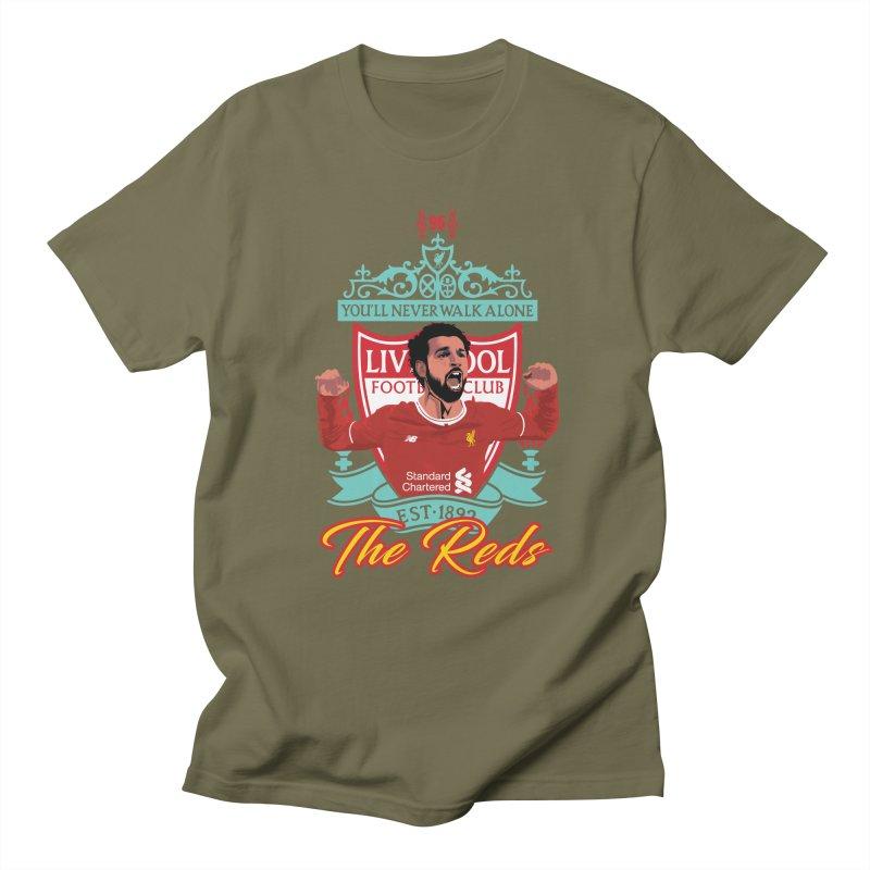 MO. SALAH LIVERPOOL FC Men's T-Shirt by ALGS's Artist Shop