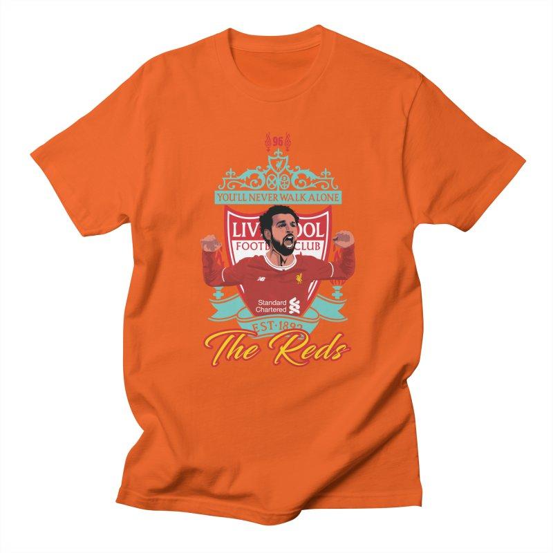MO. SALAH LIVERPOOL FC Men's Regular T-Shirt by ALGS's Artist Shop