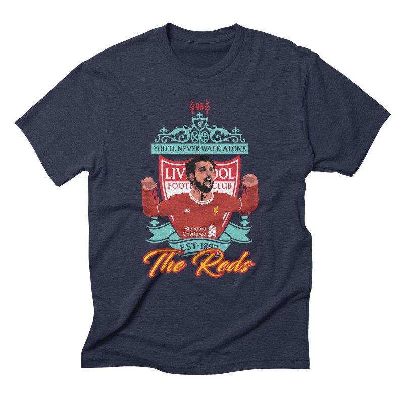 MO. SALAH LIVERPOOL FC Men's Triblend T-Shirt by ALGS's Artist Shop