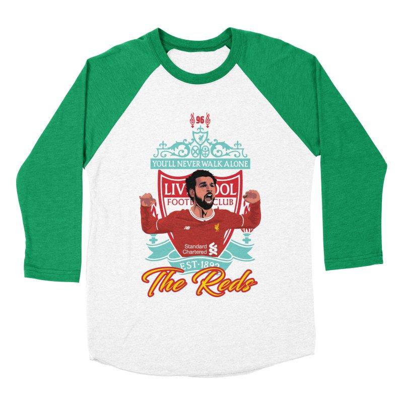 MO. SALAH LIVERPOOL FC Women's Baseball Triblend Longsleeve T-Shirt by ALGS's Artist Shop