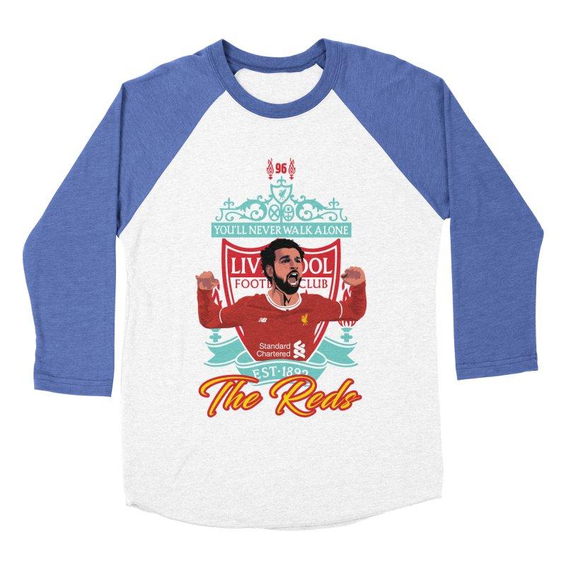 MO. SALAH LIVERPOOL FC Men's Baseball Triblend T-Shirt by ALGS's Artist Shop