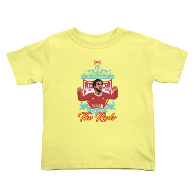 MO. SALAH LIVERPOOL FC Kids Toddler T-Shirt by ALGS's Artist Shop