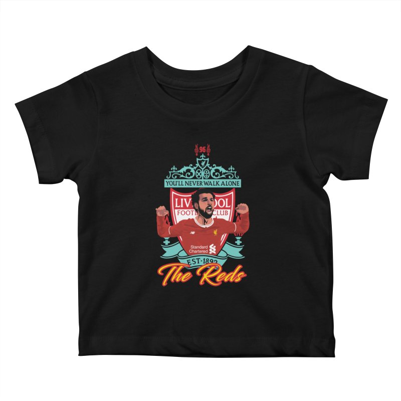 MO. SALAH LIVERPOOL FC Kids Baby T-Shirt by ALGS's Artist Shop