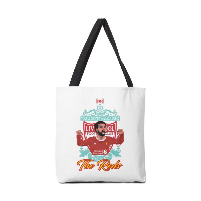 MO. SALAH LIVERPOOL FC Accessories Bag by ALGS's Artist Shop