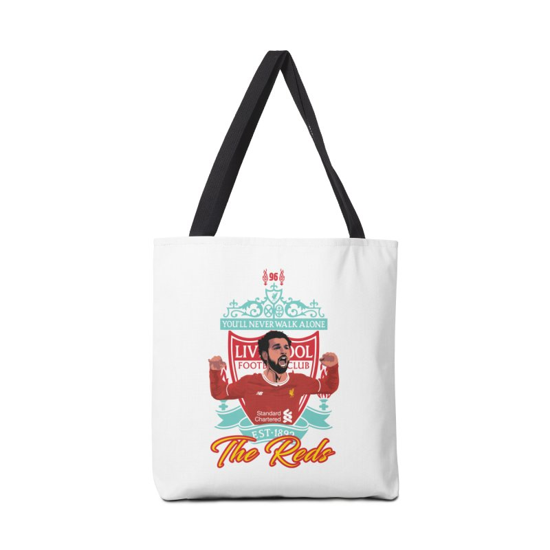 MO. SALAH LIVERPOOL FC Accessories Tote Bag Bag by ALGS's Artist Shop