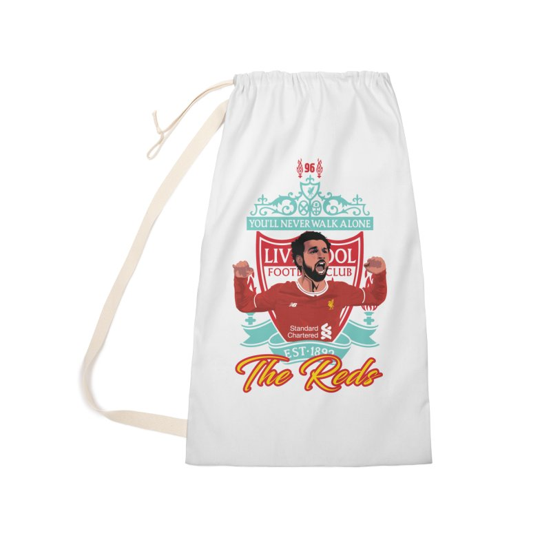 MO. SALAH LIVERPOOL FC Accessories Laundry Bag Bag by ALGS's Artist Shop