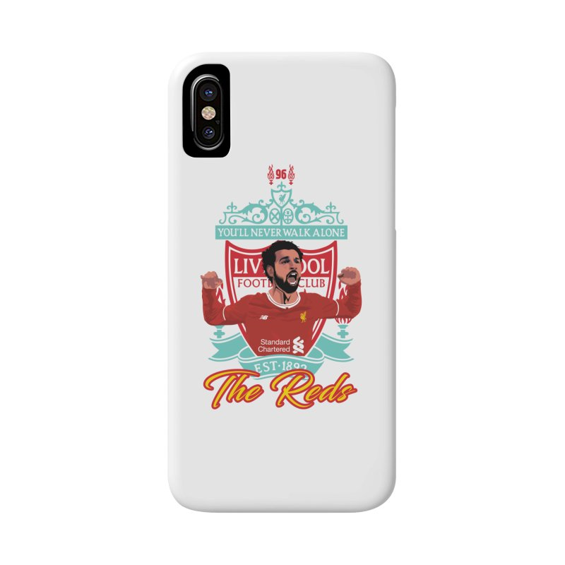 MO. SALAH LIVERPOOL FC Accessories Phone Case by ALGS's Artist Shop