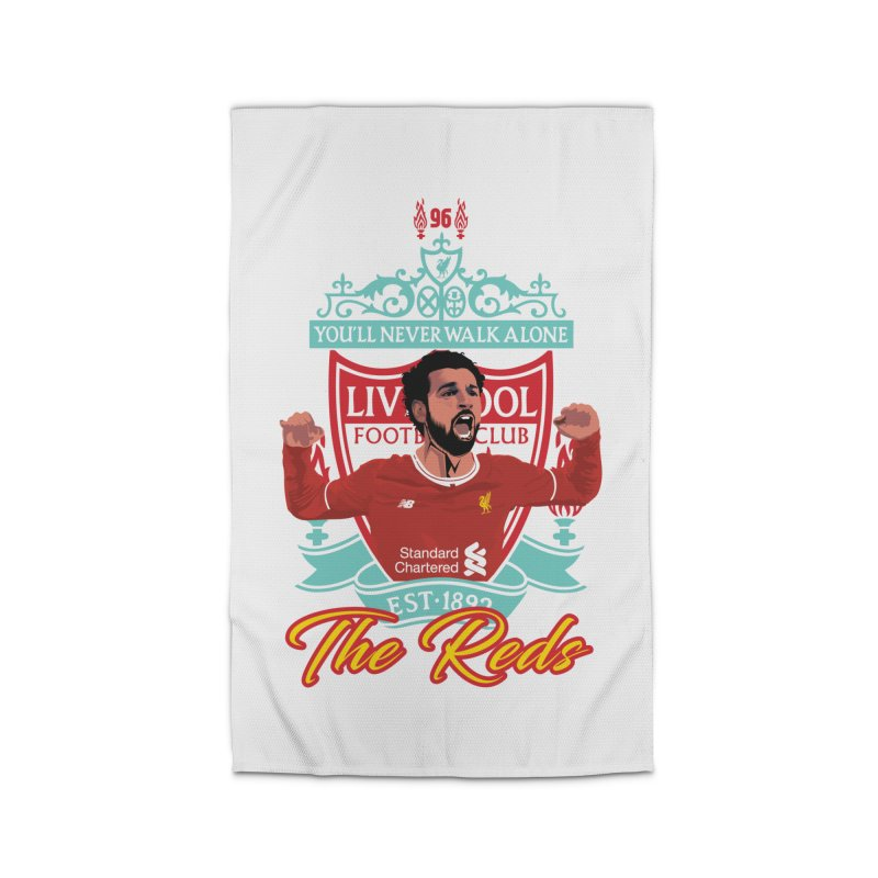 MO. SALAH LIVERPOOL FC Home Rug by ALGS's Artist Shop