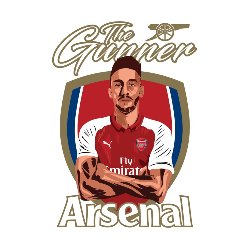AUBAMEYANG ARSENAL   by ALGS's Artist Shop