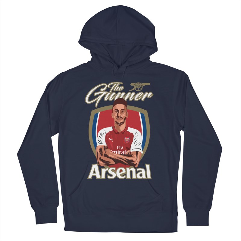AUBAMEYANG ARSENAL Women's French Terry Pullover Hoody by ALGS's Artist Shop