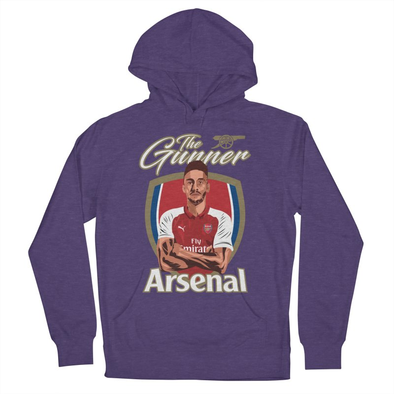 AUBAMEYANG ARSENAL Men's French Terry Pullover Hoody by ALGS's Artist Shop