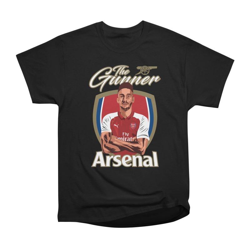 AUBAMEYANG ARSENAL Men's Heavyweight T-Shirt by ALGS's Artist Shop