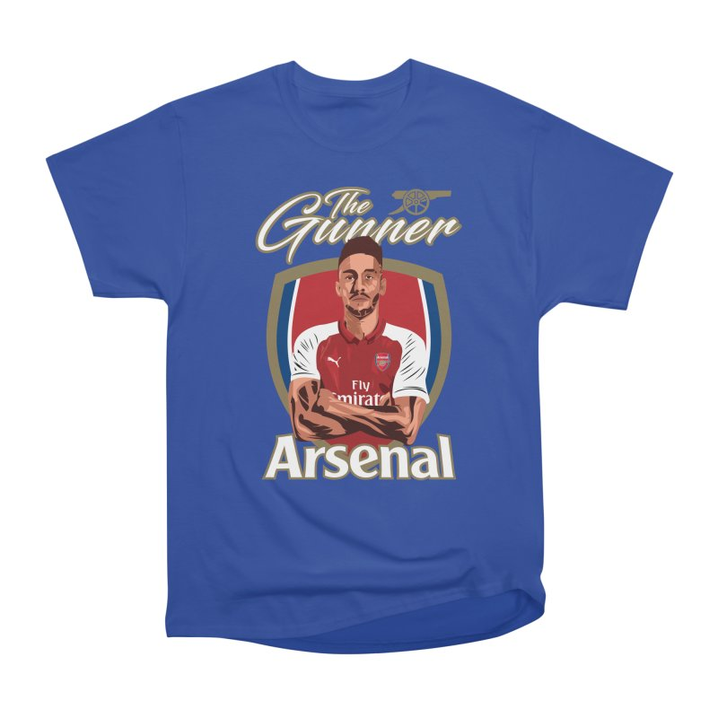 AUBAMEYANG ARSENAL Men's Heavyweight T-Shirt by ALGS's Artist Shop