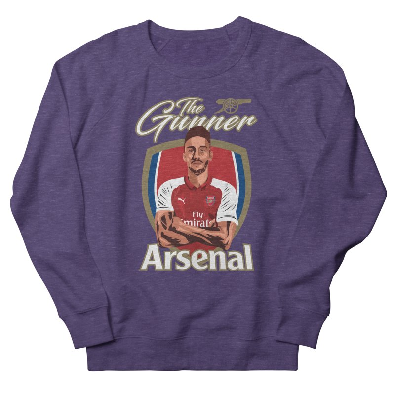 AUBAMEYANG ARSENAL Women's French Terry Sweatshirt by ALGS's Artist Shop