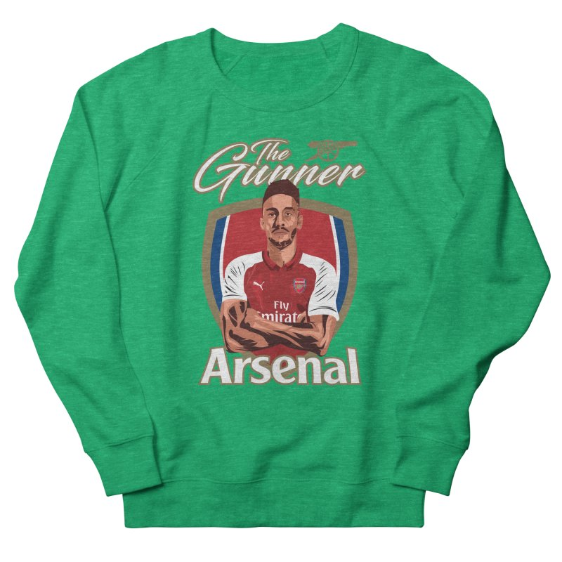 AUBAMEYANG ARSENAL Men's French Terry Sweatshirt by ALGS's Artist Shop