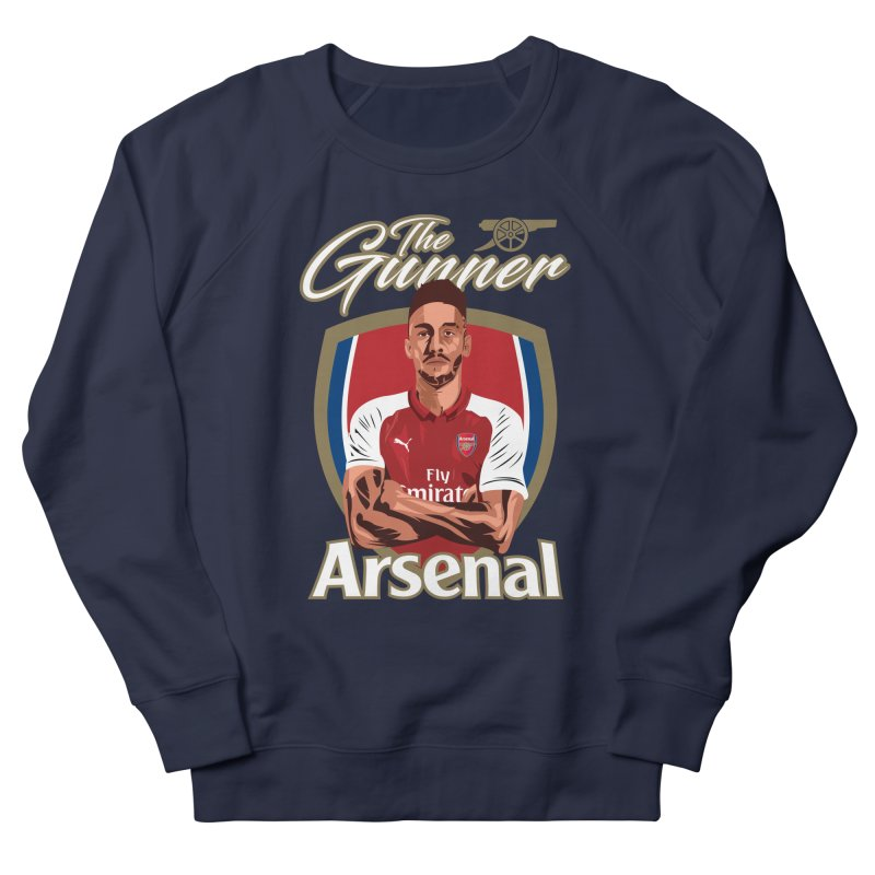 AUBAMEYANG ARSENAL Men's Sweatshirt by ALGS's Artist Shop