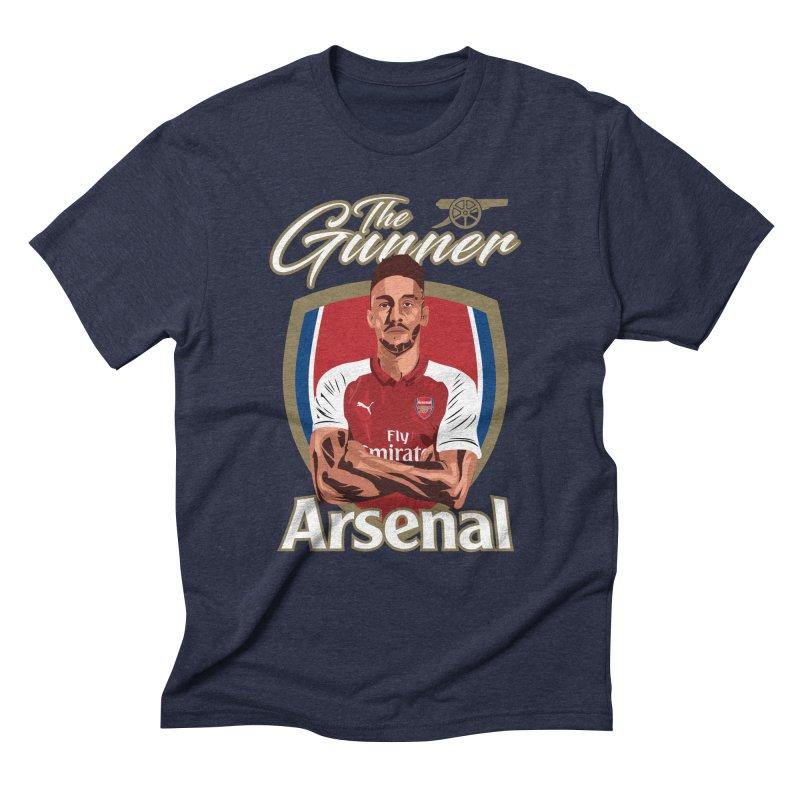 AUBAMEYANG ARSENAL Men's Triblend T-Shirt by ALGS's Artist Shop
