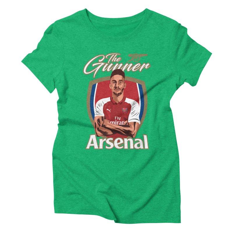 AUBAMEYANG ARSENAL Women's Triblend T-Shirt by ALGS's Artist Shop