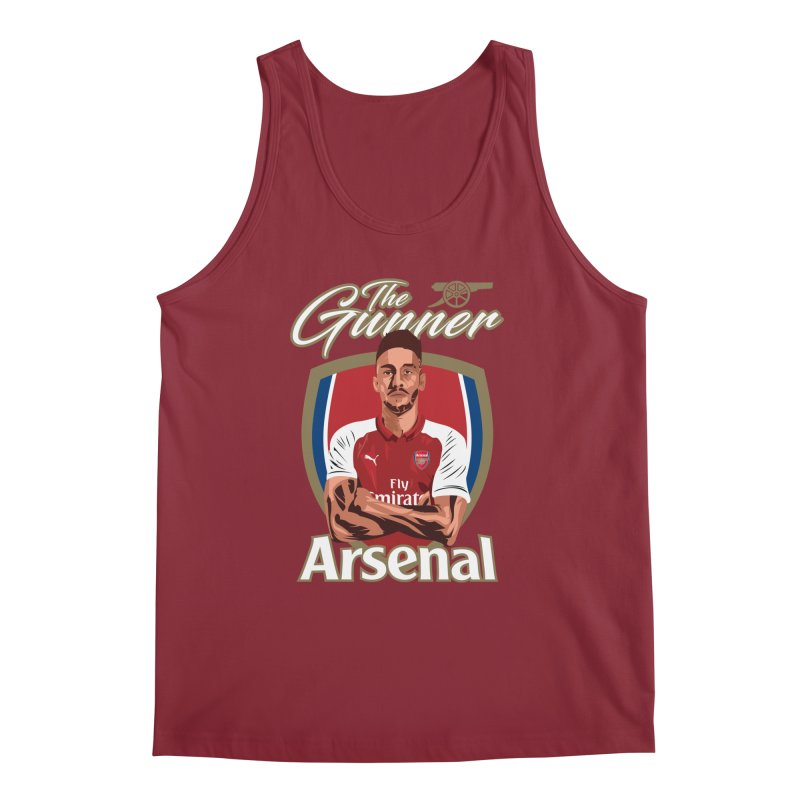 AUBAMEYANG ARSENAL Men's Regular Tank by ALGS's Artist Shop