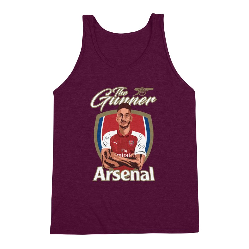 AUBAMEYANG ARSENAL Men's Triblend Tank by ALGS's Artist Shop