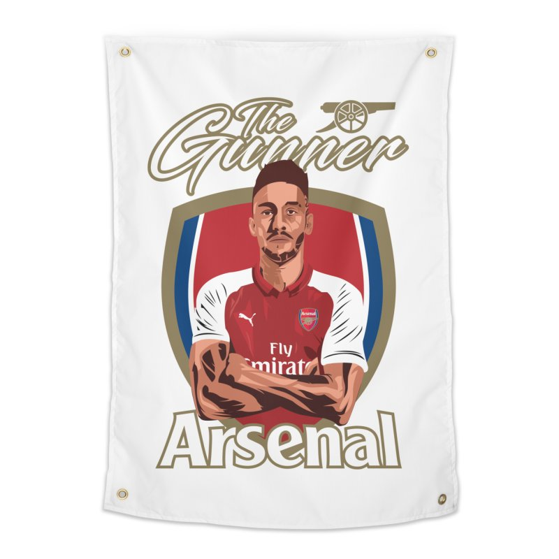AUBAMEYANG ARSENAL Home Tapestry by ALGS's Artist Shop