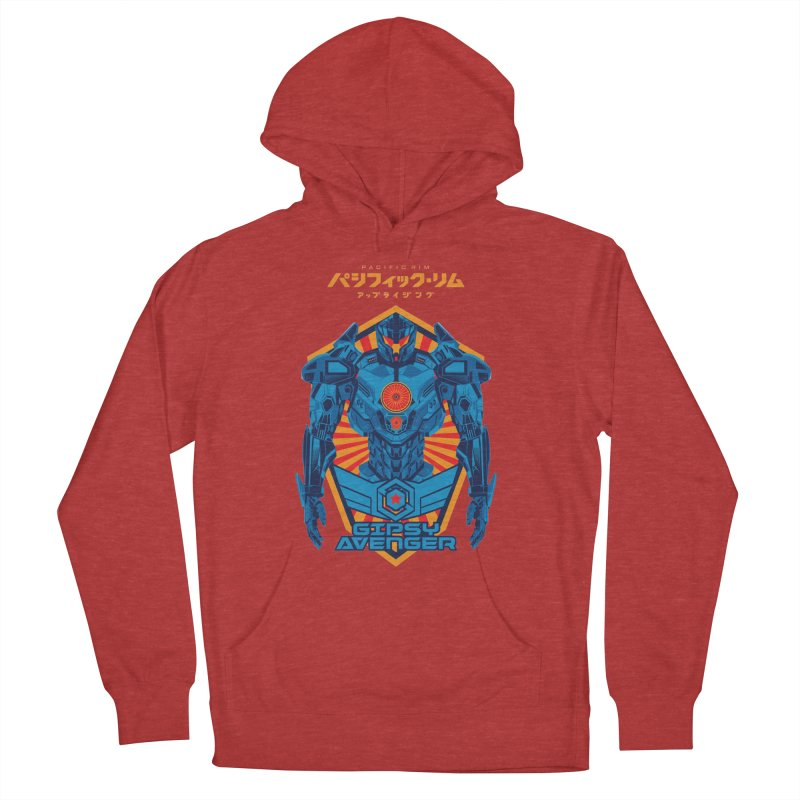 PACIFIC RIM UPRISING Women's French Terry Pullover Hoody by ALGS's Artist Shop