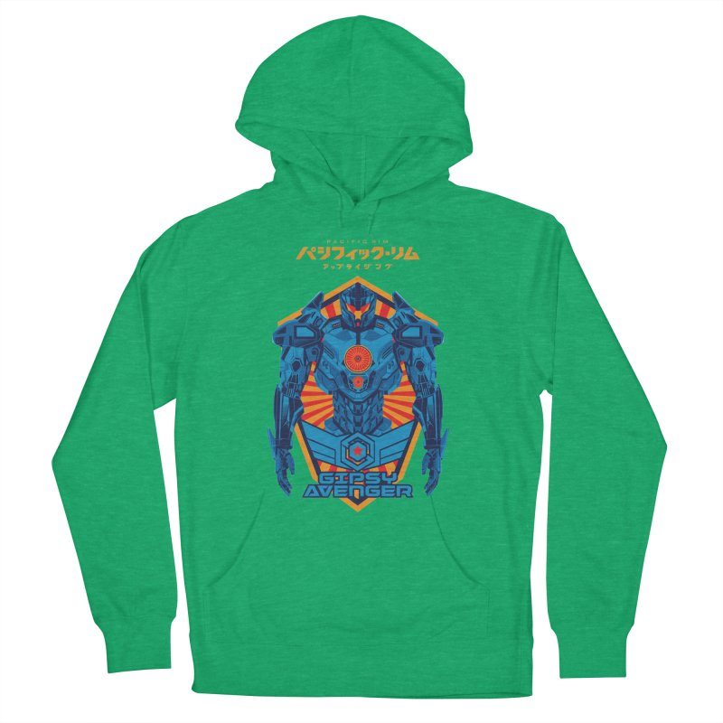 PACIFIC RIM UPRISING Men's French Terry Pullover Hoody by ALGS's Artist Shop