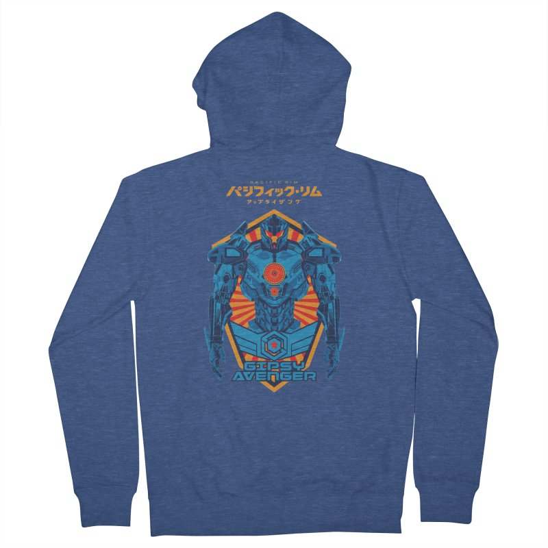 PACIFIC RIM UPRISING Women's French Terry Zip-Up Hoody by ALGS's Artist Shop