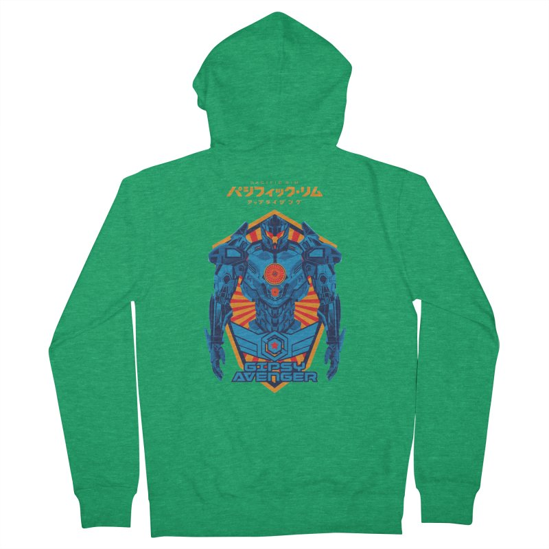 PACIFIC RIM UPRISING Men's French Terry Zip-Up Hoody by ALGS's Artist Shop