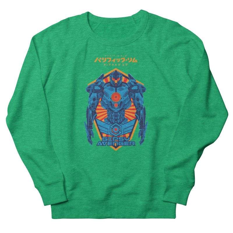 PACIFIC RIM UPRISING Men's French Terry Sweatshirt by ALGS's Artist Shop