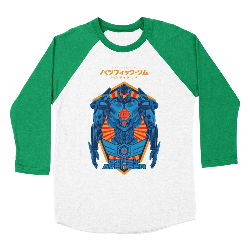 PACIFIC RIM UPRISING Women's Baseball Triblend Longsleeve T-Shirt by ALGS's Artist Shop