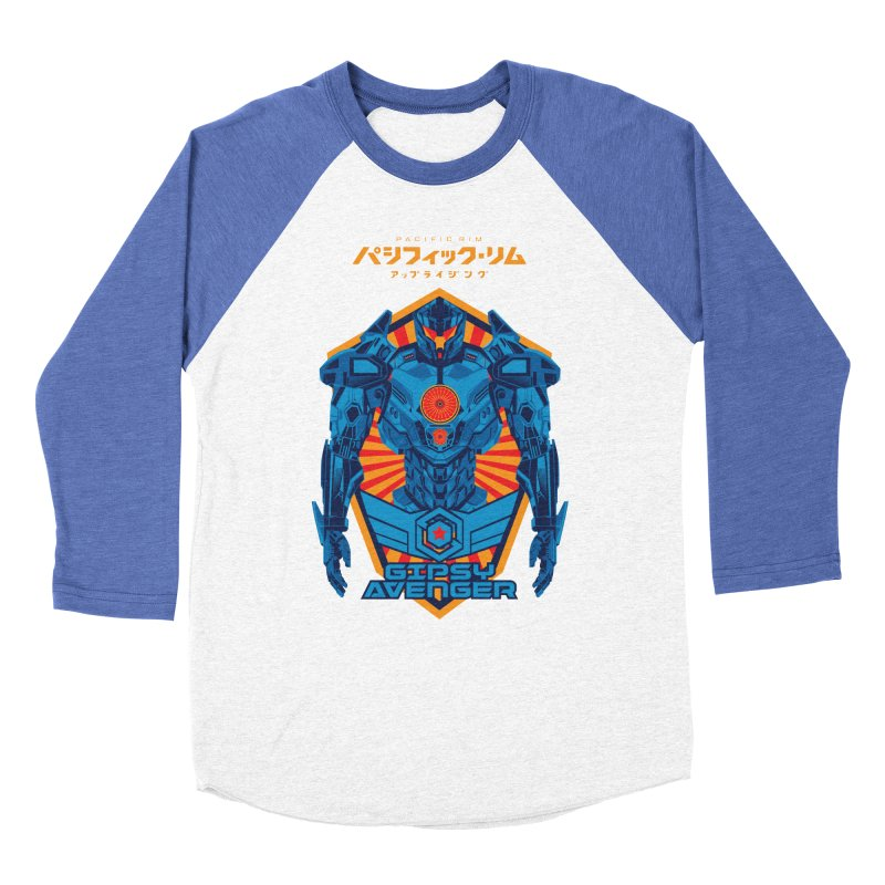 PACIFIC RIM UPRISING Men's Baseball Triblend Longsleeve T-Shirt by ALGS's Artist Shop