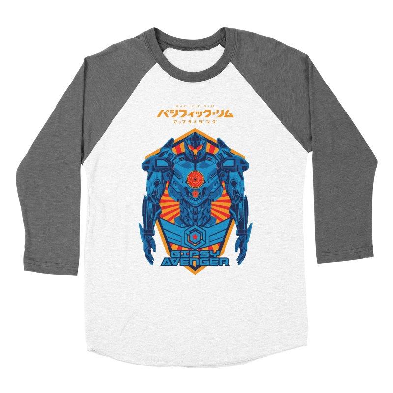 PACIFIC RIM UPRISING Men's Baseball Triblend Longsleeve T-Shirt by ALGS's Artist Shop