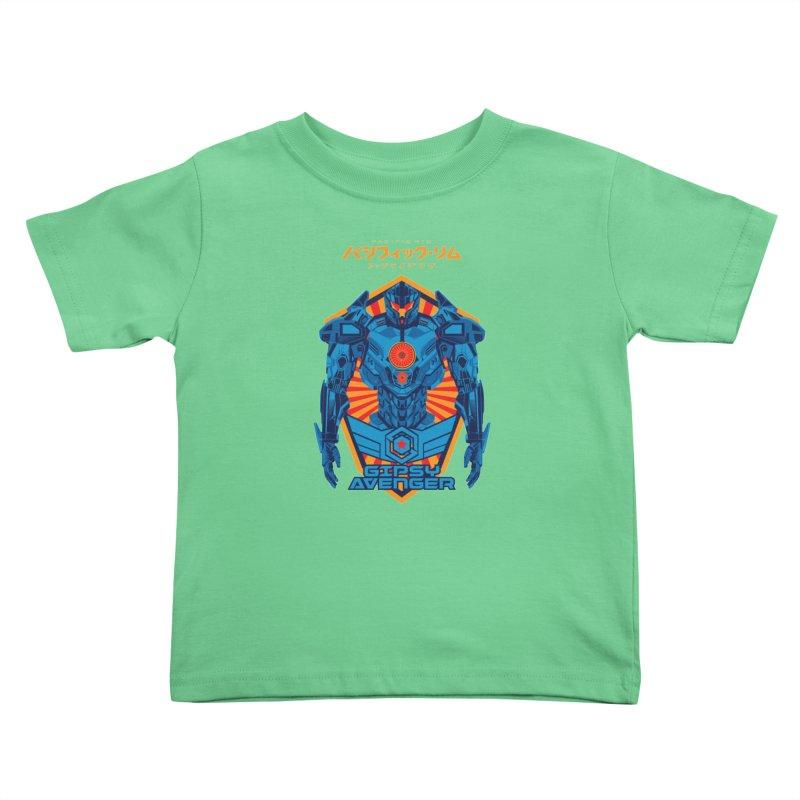 PACIFIC RIM UPRISING Kids Toddler T-Shirt by ALGS's Artist Shop