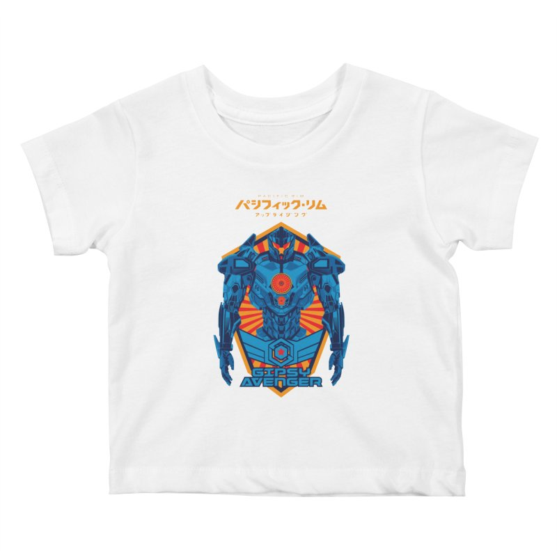 PACIFIC RIM UPRISING Kids Baby T-Shirt by ALGS's Artist Shop