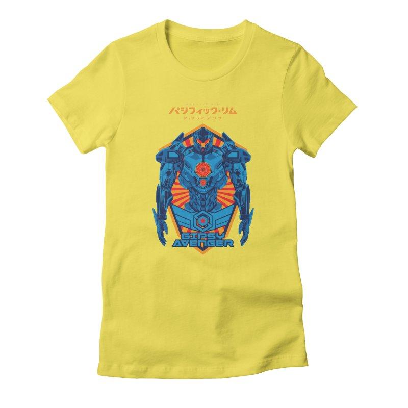 PACIFIC RIM UPRISING Women's T-Shirt by ALGS's Artist Shop