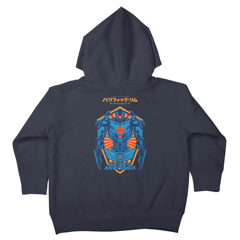 PACIFIC RIM UPRISING Kids Toddler Zip-Up Hoody by ALGS's Artist Shop