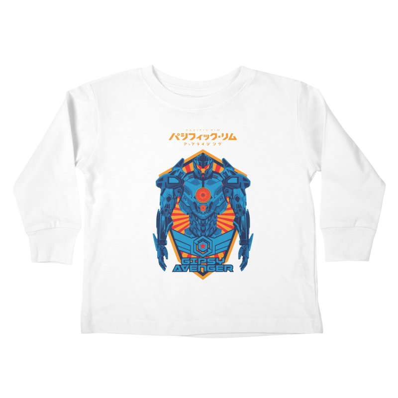 PACIFIC RIM UPRISING Kids Toddler Longsleeve T-Shirt by ALGS's Artist Shop