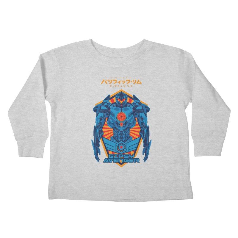 PACIFIC RIM UPRISING Kids Toddler Longsleeve T-Shirt by ALGS's Artist Shop
