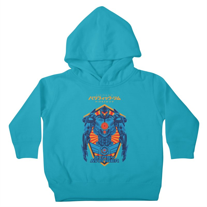 PACIFIC RIM UPRISING Kids Toddler Pullover Hoody by ALGS's Artist Shop