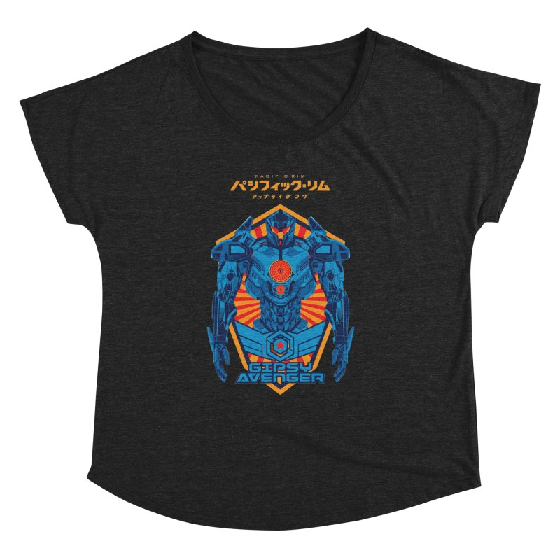 PACIFIC RIM UPRISING Women's Dolman Scoop Neck by ALGS's Artist Shop