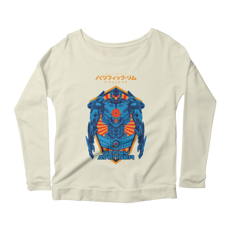 PACIFIC RIM UPRISING Women's Scoop Neck Longsleeve T-Shirt by ALGS's Artist Shop