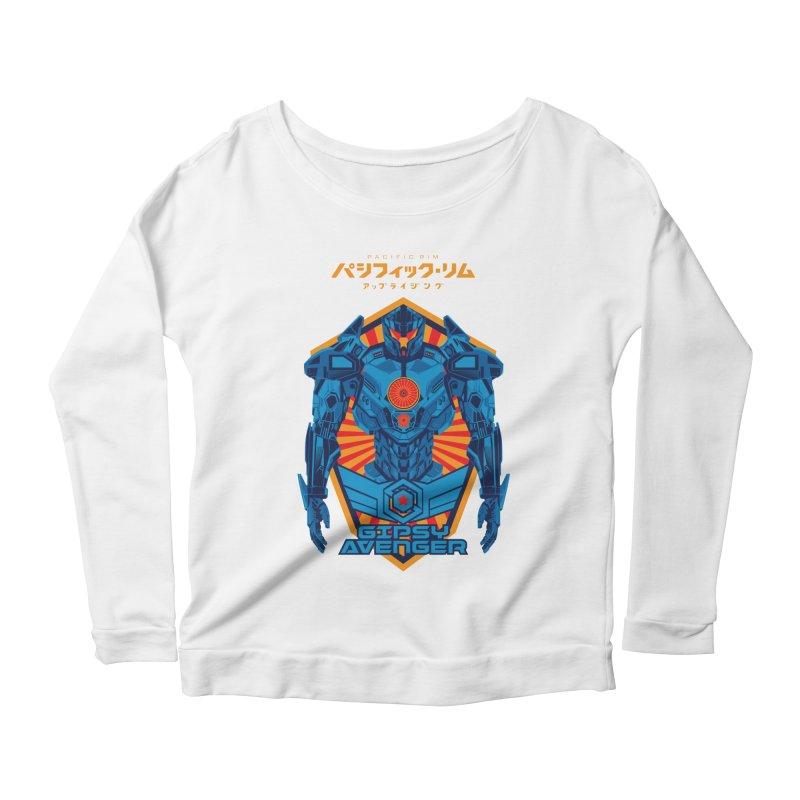 PACIFIC RIM UPRISING Women's Scoop Neck Longsleeve T-Shirt by ALGS's Artist Shop