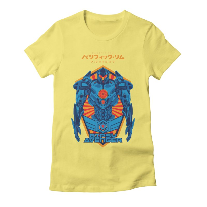 PACIFIC RIM UPRISING Women's Fitted T-Shirt by ALGS's Artist Shop