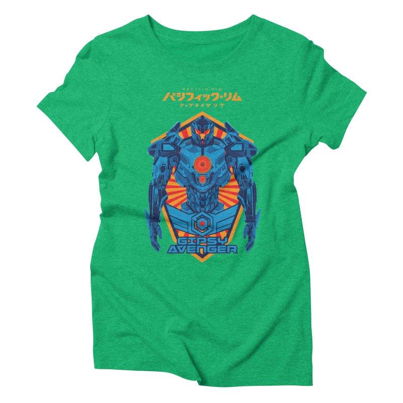 PACIFIC RIM UPRISING Women's Triblend T-Shirt by ALGS's Artist Shop