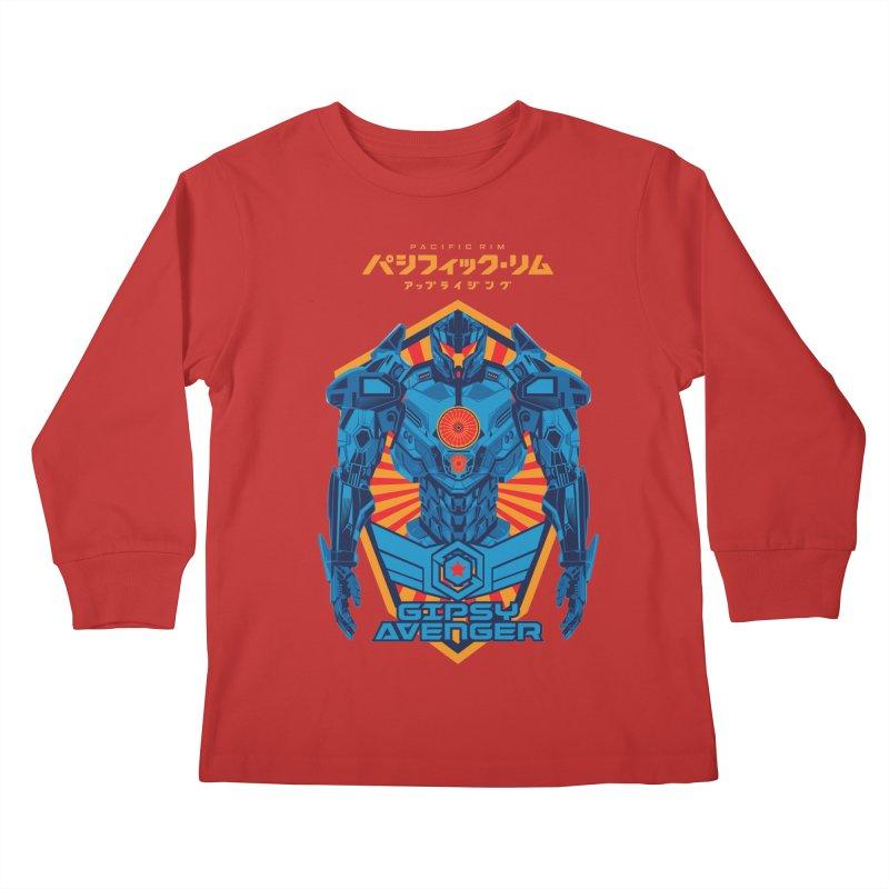 PACIFIC RIM UPRISING Kids Longsleeve T-Shirt by ALGS's Artist Shop